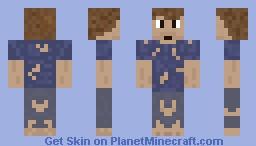 Poor Man Minecraft Skin