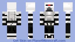 Cylon BSG Minecraft Skin