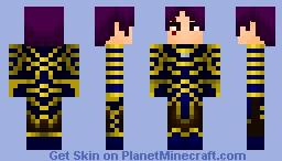 Khun Phaen - The Black magic Warrior!! [Much Better in Preview] Minecraft Skin