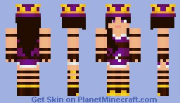 Caitlyn, The Sheriff of Piltover (League of Legends) Minecraft Skin