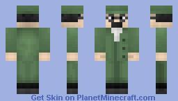 Professor Calculus Minecraft Skin