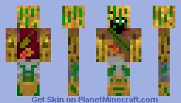 Camo Notch Minecraft Skin