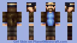 Captain Haddock [TinTin] Minecraft Skin