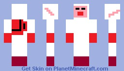 Pikmin Captain OLIMAR Skin Minecraft Skin
