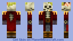 Captain Seighter - Skeleton Pirate [Underwater Skin Contest] Minecraft Skin