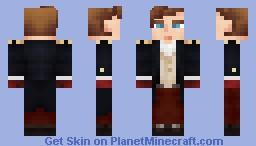 Naval Commander Minecraft Skin