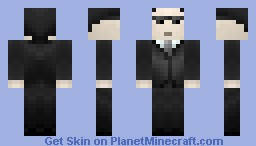 Agent Smith [Matrix] [Hugo Weaving] Minecraft Skin