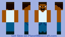 The Cool Frenchie (Carl Jhonson Inspired) Minecraft Skin