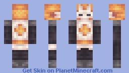 Castle Crashers - Fire Knight Minecraft Skin