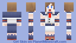Charlotte Aulin (Looks better in 3D) Minecraft Skin
