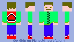 Casual Dude Minecraft Skin
