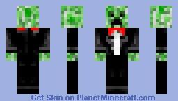 Casual Creeper Minecraft Skin