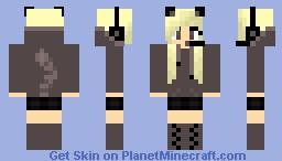 Gamer girl minecraft skin