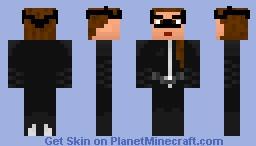 TDKR - Catwoman Minecraft Skin