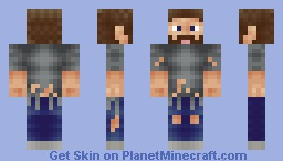 Stranded Ketchupbottle Minecraft Skin