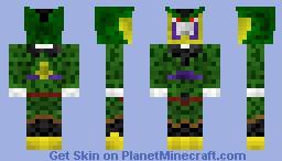 Cell (DBZ) (+cape) Minecraft Skin
