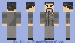Chairman Prescott GOW Minecraft Skin