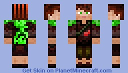 CreeperHunter/Adventurer Minecraft Skin