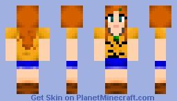 Charlotte San Aubin--My Percy Jackson OC Minecraft Skin