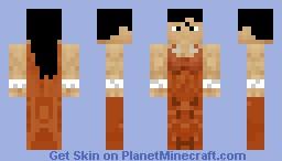 Chell (From Portal) Skin Battle with Luckyleprechaun1 Minecraft Skin