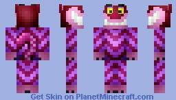 Cheshire Cat Minecraft Skin