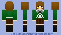 Chihiro Fujisaki - Dangan Ronpa Minecraft Skin