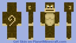 Chimp Minecraft Skin