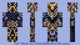 Chaos Chosen Minecraft Skin