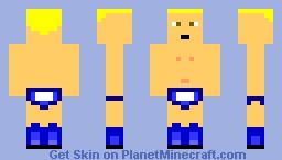 Chris Jericho Minecraft Skin