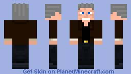 Christopher Walken Minecraft Skin