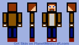 Cartoon Adventurer Minecraft Skin