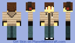 Me, the_apple. Minecraft Skin