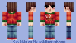 Looking forward to Christmas Minecraft Skin