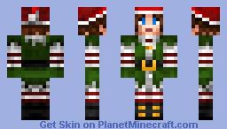 Christmas Helper Minecraft Skin