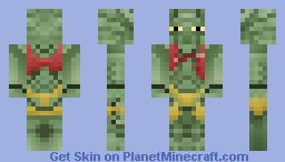 Christopher Johnson - District 9 Minecraft Skin