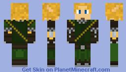 ChronoBasher Skin Minecraft Skin