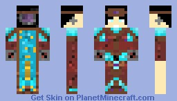 The Knight of chronomancy Minecraft Skin