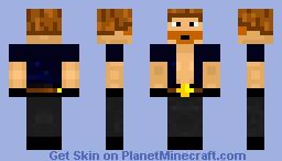 Chuck Norris Minecraft Skin