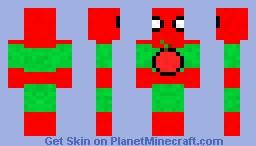 Cider Man Minecraft Skin