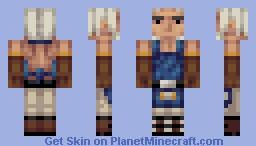 Cid - Final Fantasy XI Minecraft Skin