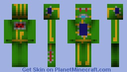 Circuit Board Minecraft Skin