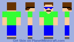 City boy Minecraft Skin