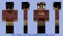 Clementine ~ Walking Dead Minecraft Skin