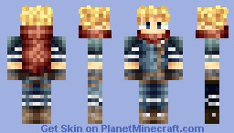 Cloud - Kingdom Hearts Minecraft Skin