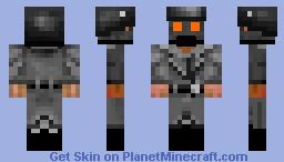 Call of Duty Black ops II Origins german soliders Minecraft Skin