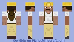 Miner Cocoa Beanz Minecraft Skin