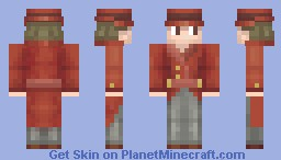 Gambler [Pokemon] Minecraft Skin
