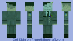 The Colonel? (MGS2) Minecraft Skin