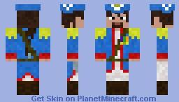 Colonist General Minecraft Skin