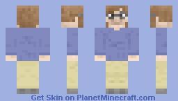 Colored in Minecraft Skin